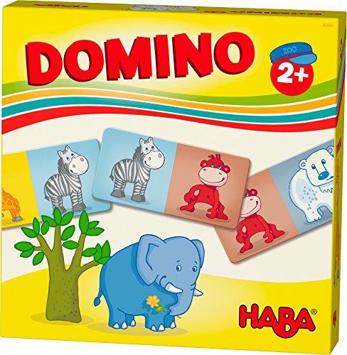 HABA 303763 - HABA-Lieblingsspiele – Domino Zootiere