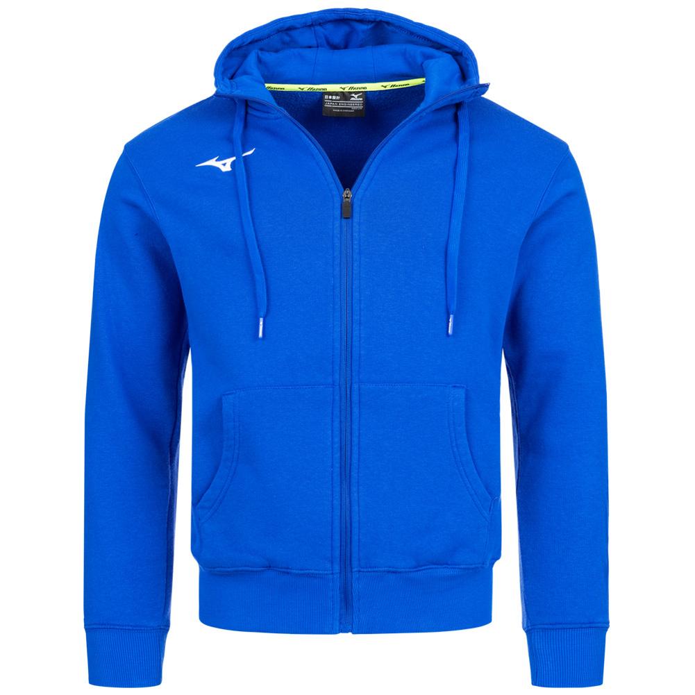 Mizuno Multisport Kapuzen Sweatjacke für Damen und Herren in Blau oder Grau