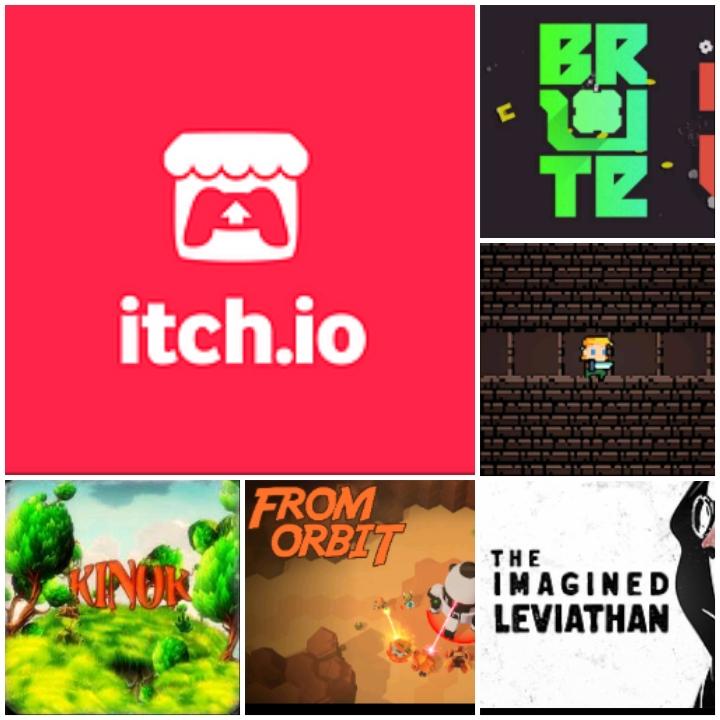 Games Gratis auf itch.io (Windows, MacOS und Linux) - Unbridled Dungeon Gratis Windows