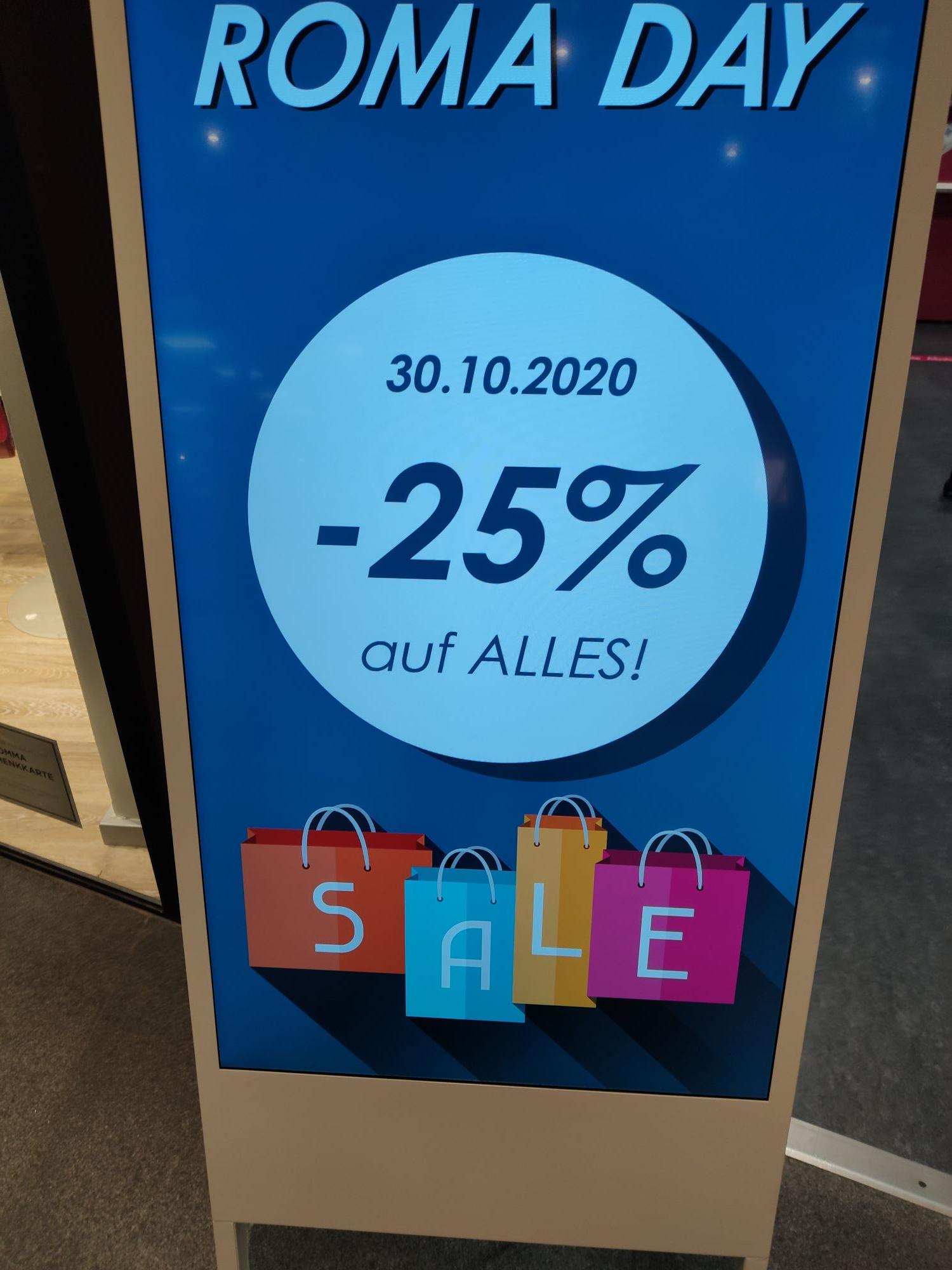 ROMA Friseurbedarf 25% auf alles