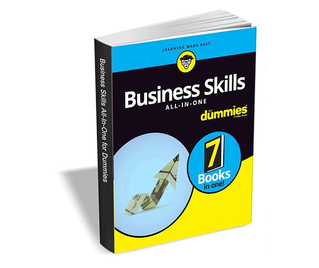 """""""Business Skills All-in-One For Dummies"""" Englisches E-Book derzeit gratis anstatt 19,64 Euro"""