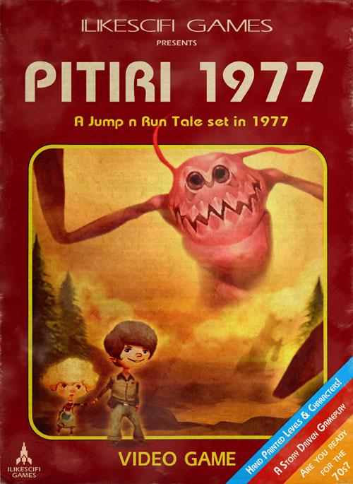 """Indiegame """"Pitiri 1977"""" vom Communitymitglied @ILIKESCIFI im Halloweensale auf Steam"""