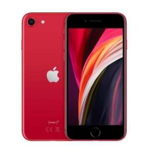 iPhone SE 2020, 64GB, rot/weiß/schwarz