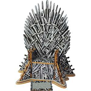 "Game of Thrones - 56-teiliges Holzpuzzle ""Iron Throne"""
