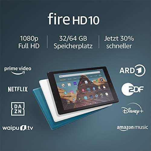 Amazon Fire HD 10 (auch als Echo Show nutzbar)