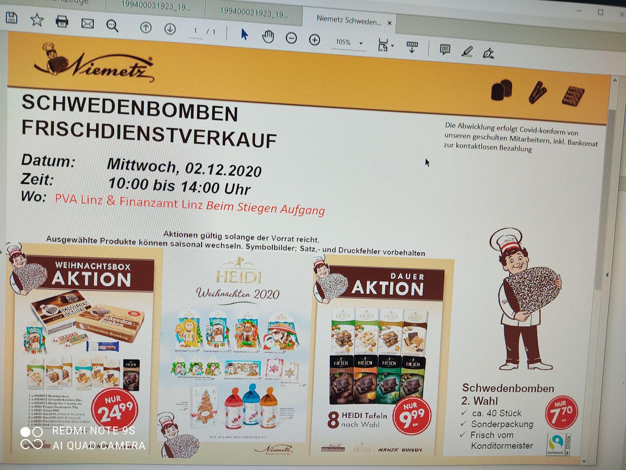 Schwedenbomben Verkauf in 4020 Linz