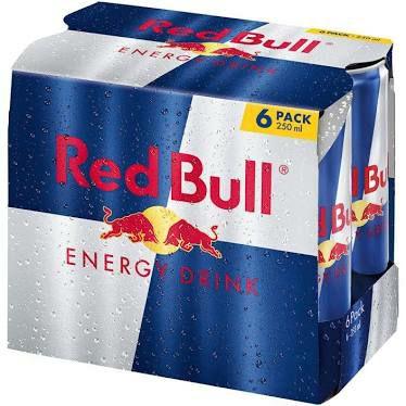 LIDL Red Bull 6er mit 25 Prozent Sticker