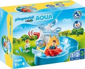 playmobil 1.2.3 - Wasserrad mit Karussell