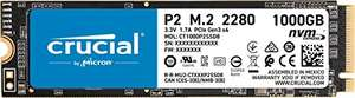 Crucial P2 SSD, 1TB, M.2 NVMe
