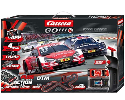 Carrera GO!!! PLUS DTM Speed Record Autorennbahn-Set