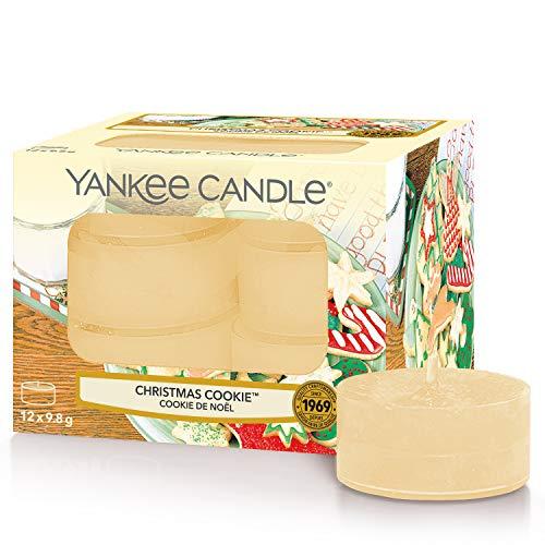 "12x Yankee Candle Duft-Teelicht ""Christmas Cookie"""