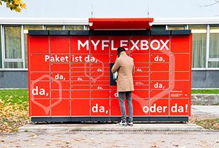 [InfoDeal] LogoiX Flexbox - rund um die Uhr Pakete abholen in Salzburg