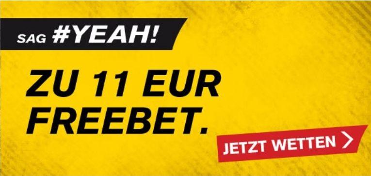 Interwetten: 11€ Gratiswette (auf das Spiel Dortmund vs. Bayern am 7.11.)