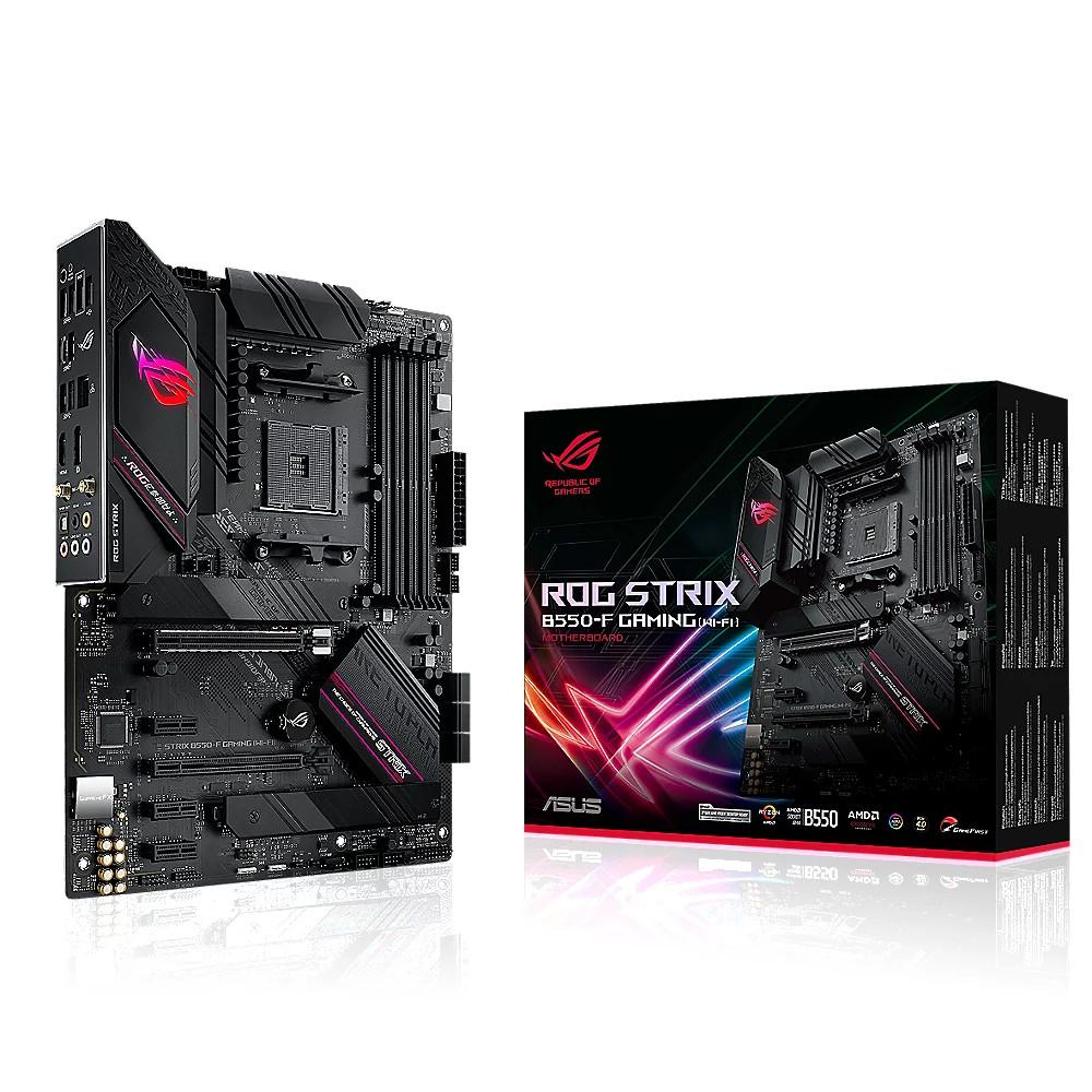 ASUS ROG Strix B550-F Gaming Wi-FI ATX Mainboard Sockel AM4 + Cashback möglich