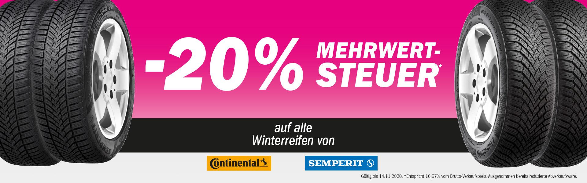 [Forstinger] -16,67% auf Continental Reifen