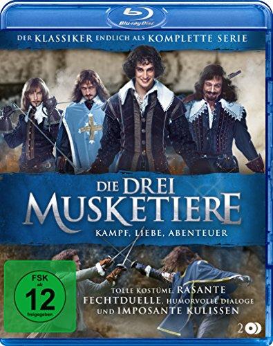 Die drei Musketiere - Kampf, Liebe, Abenteuer - Die komplette Serie [Blu-ray]