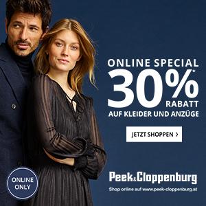 Peek&Cloppenburg -30% Kleider und Anzüge