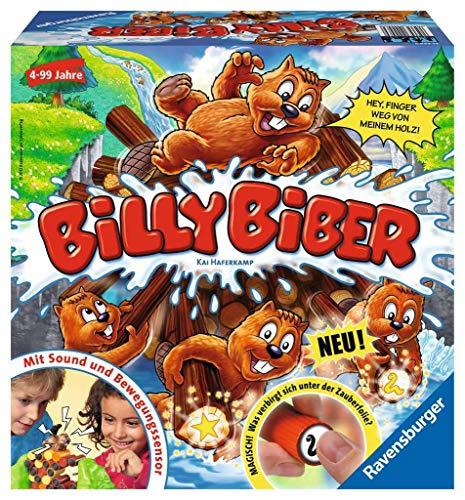Ravensburger 22246 Billy Biber - Geschicklichkeitsspiel für ruhige Hände (Ab 4J / 1-4 Spieler)