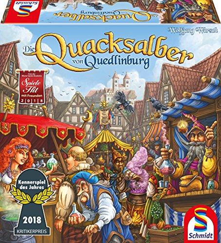 Schmidt Spiele - Die Quacksalber von Quedlinburg (Kennerspiel 2018)