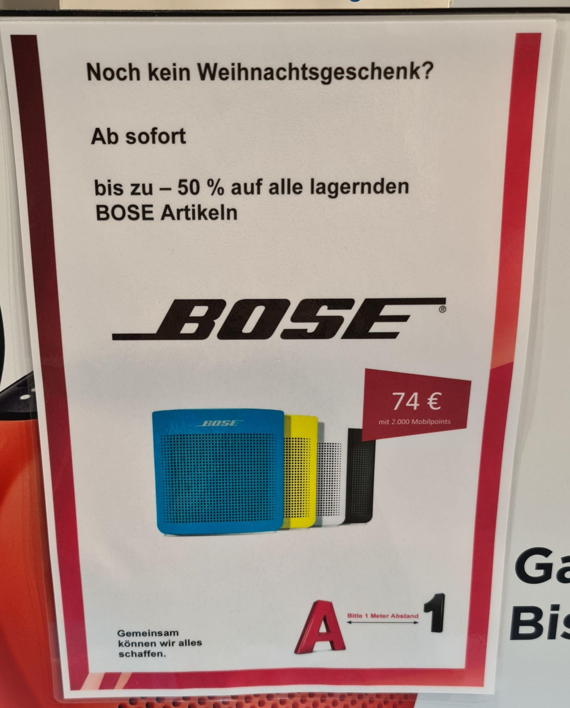 Bose Abverkauf bei A1
