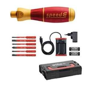 Wiha elektrischer Schraubendreher speedE Set 1 (VDE geprüft)