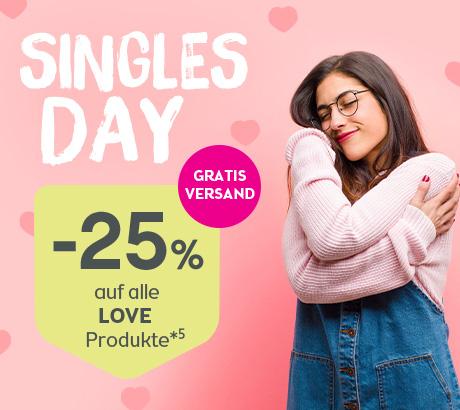 [Singles Day] 25% auf Love Produkte & Gratis Versand!