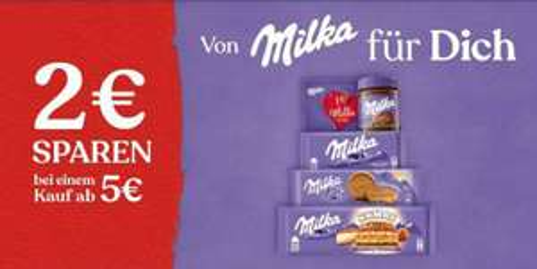[Coupies] Milka -40% (auch auf Aktionspreise)