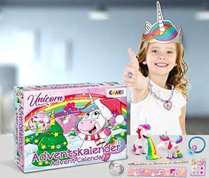 CRAZE Adventkalender 2020 UNICORN Accessoires & Co für Kinder