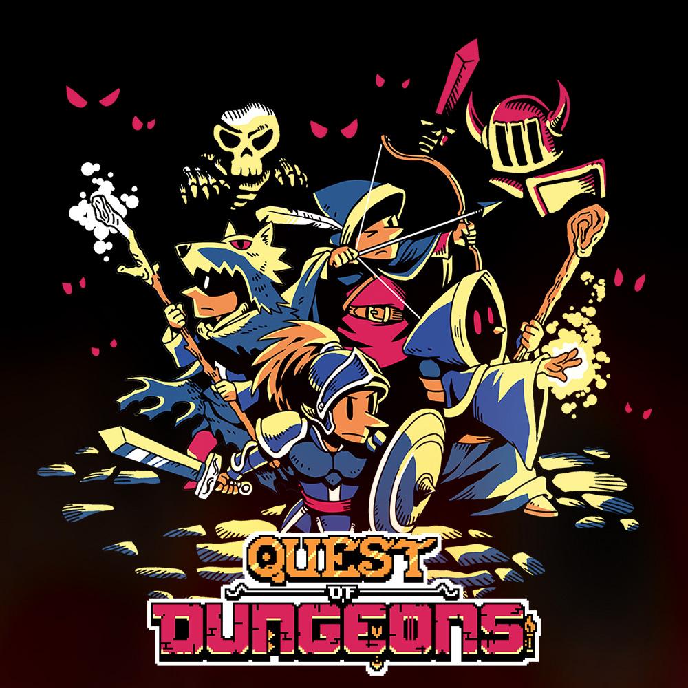 """""""Quest of Dungeons"""" (Nintendo Switch) zum bisherigen Bestpreis"""