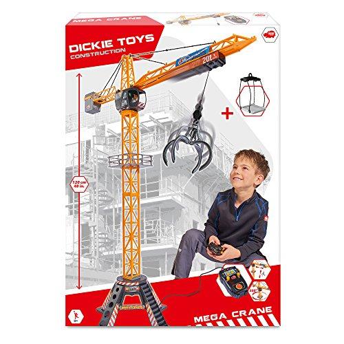 [Chriskindlbrief] Dickie Toys Mega Crane 120cm elektrischer Kran mit Fernbedienung