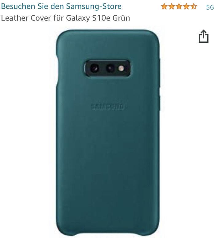 TOP bewertetes Samsung Leder-Cover für Galaxy S 10e