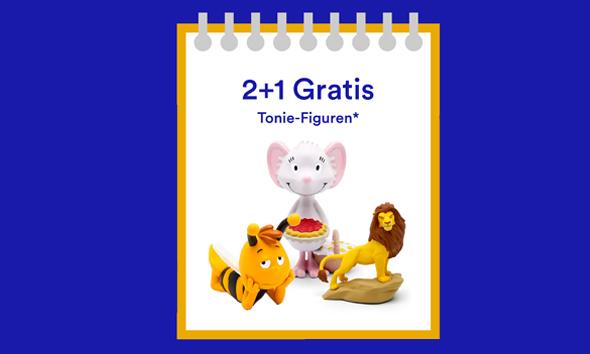 Thalia: 2+1 gratis Tonie Figuren