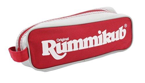 Original Rummikub Travel Pouch Reisespiel, Gesellschaftsspiel, Legespiel, Ab 7 Jahren