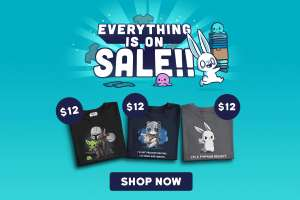 Sale bei TeeTurtle - Shirts -50%