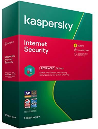Kaspersky Internet Security 2021 Standard | 3 Geräte | 1 Jahr