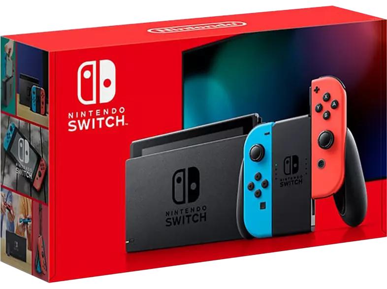 Nintendo Switch, rot/blau oder grau