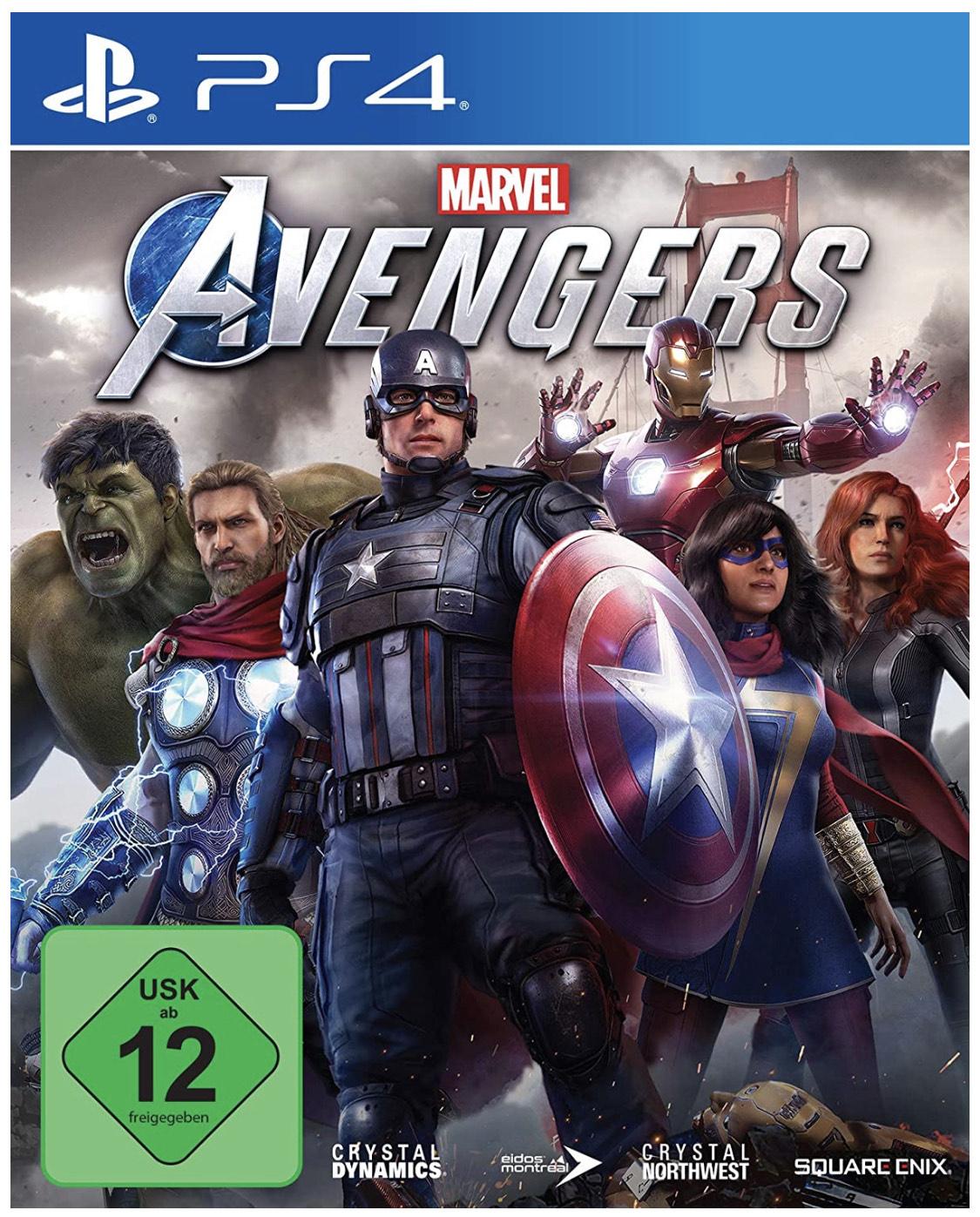 Marvel Avangers für die PS4 (inkl. PS5 Upgrade)