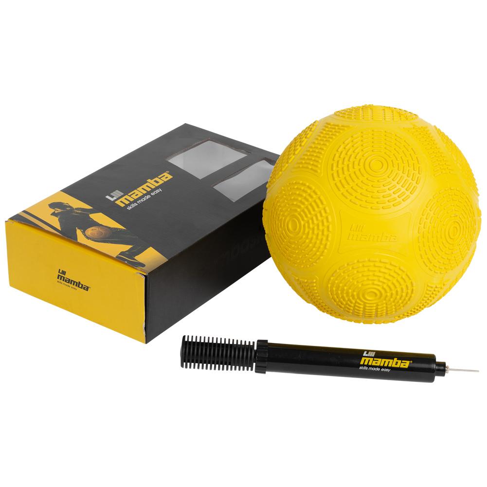 Mamba Ball Freestyle Fußball inkl. Ballpumpe gelb oder rot