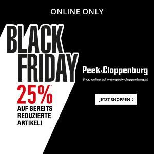 Peek & Cloppenburg Black Friday: 25% Rabatt auf alle Sale Artikel