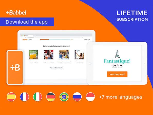 Babbel Lifetime Subscription (ALL Languages)