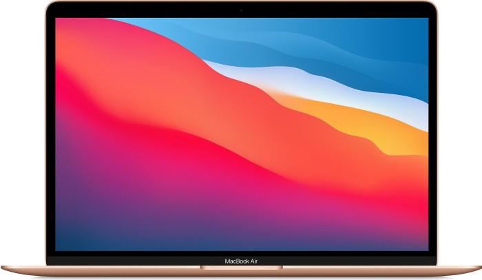 Apple MacBook Air gold, Apple M1, 8 Core GPU, 8GB RAM, 1TB SSD