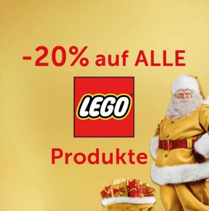 Interspar: 20% Rabatt auf alle Lego Produkte