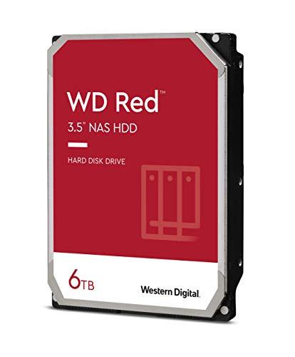 (Warehouse Deal) Western Digital WD Red 6TB, SATA 6Gb/s (WD60EFAX)