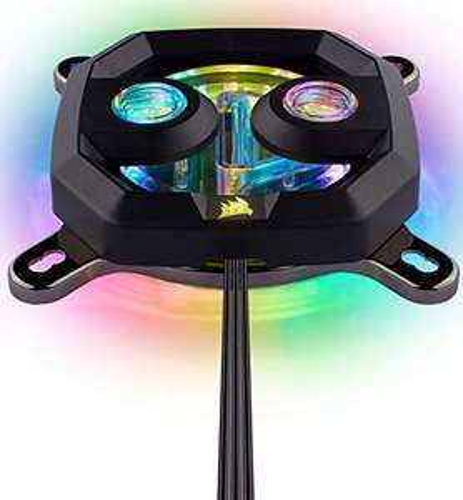 Corsair Hydro X Series XC7 RGB - CPU-Wasserkühler (Intel 115X / AMD AM4)