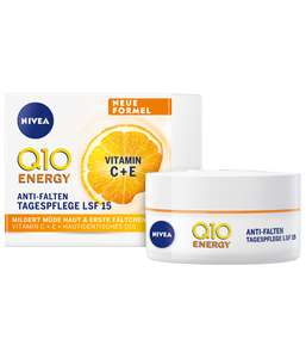 Gratis Nivea Energy Q10 Tagescreme zu einer Bestellung ab 20€