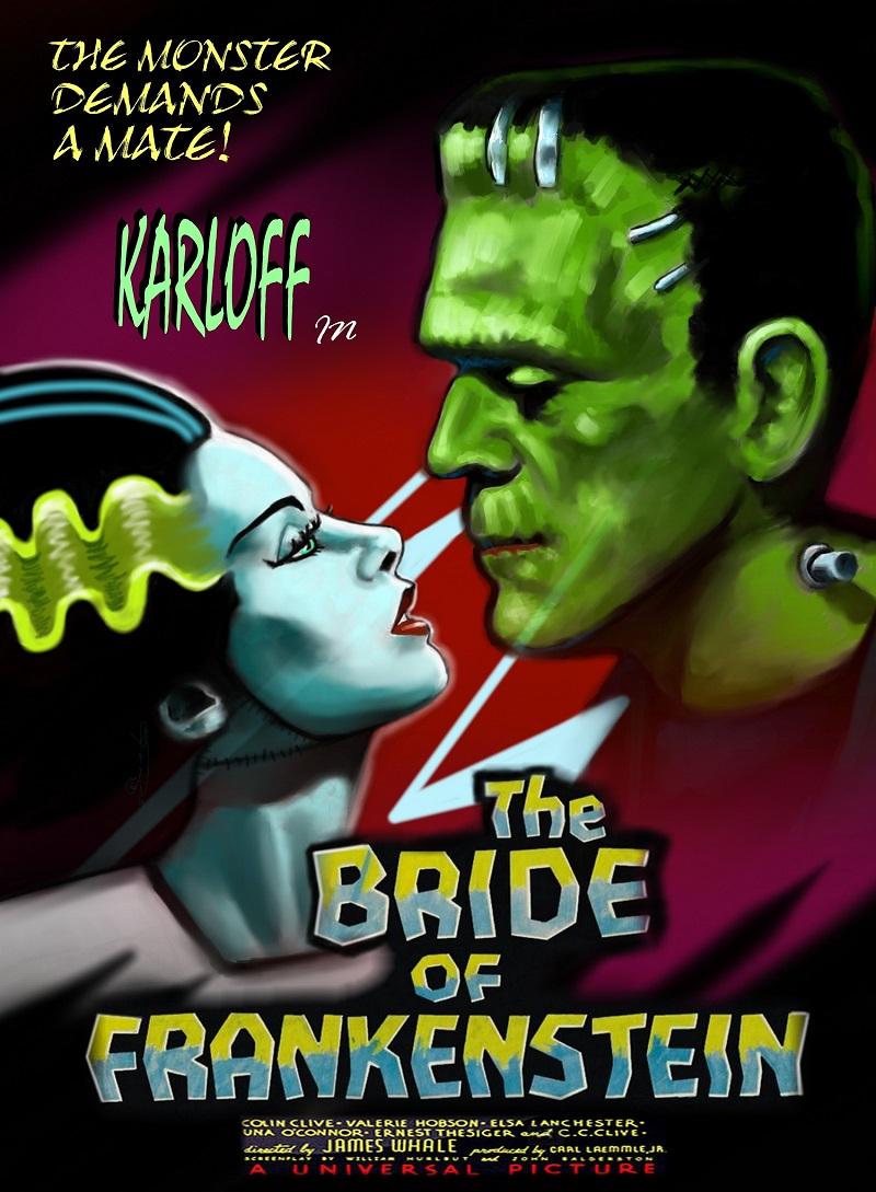 """""""THE BRIDE OF FRANKENSTEIN"""" -OV- (1935) gratis Stream"""