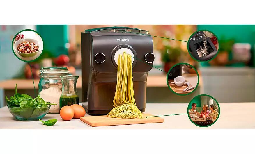 Philips HR2382/15 Avance Pastamaker zu aktuellem Bestpreis - nie mehr Nudeln hamstern