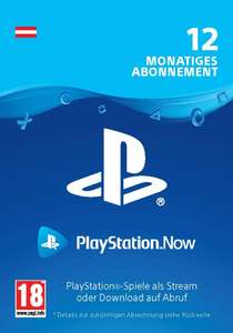 Jahresabo Playstation Now