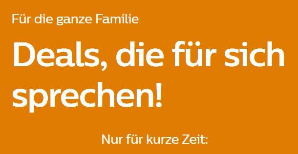 Philips -15% auf diverse Artikel