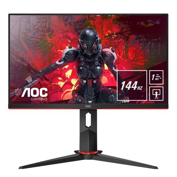 "AOC 24G2U/BK 23.8"" Gaming Monitor 144 Hz 1 ms FreeSync & G-Sync Kompatibel"